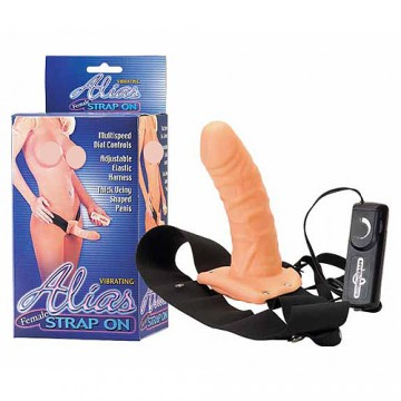 Alias Vibrating Female Strap On