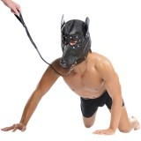 Fetish Fantasy Doggy Hood & Leash