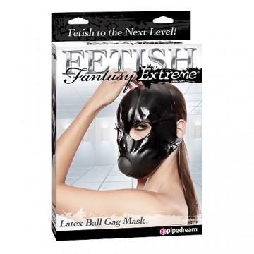 Fetish Fantasy Extreme Latex Ball Gag Mask