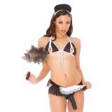 Vac-U-Lock™ Diva Dreams Flirty French Maid Plus Size